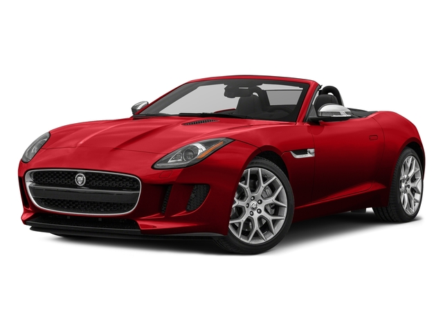 Caldera Red 2017 Jaguar F-TYPE Pictures F-TYPE Convertible Auto photos front view