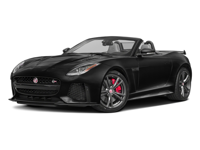 Ultimate Black Metallic 2017 Jaguar F-TYPE Pictures F-TYPE Convertible 2D SVR AWD V8 photos front view