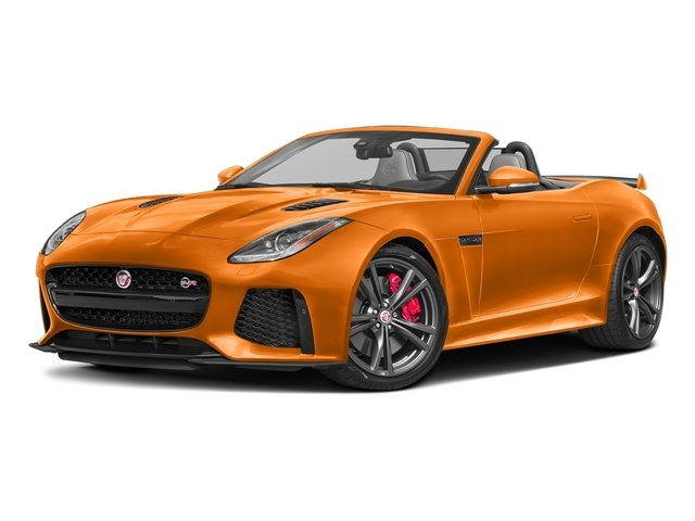 Firesand Metallic 2017 Jaguar F-TYPE Pictures F-TYPE Convertible 2D SVR AWD V8 photos front view