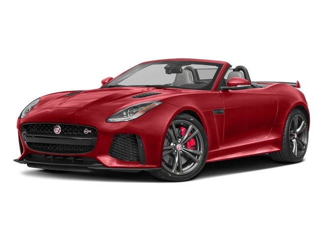 Caldera Red 2017 Jaguar F-TYPE Pictures F-TYPE Convertible 2D SVR AWD V8 photos front view