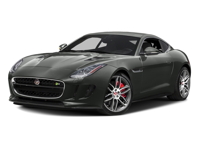 Ammonite Grey Metallic 2017 Jaguar F-TYPE Pictures F-TYPE Coupe 2D R AWD V8 photos front view