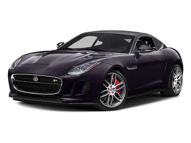 Black Berry 2017 Jaguar F-TYPE Pictures F-TYPE Coupe 2D R AWD V8 photos front view