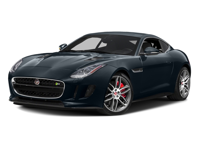 Dark Sapphire Metallic 2017 Jaguar F-TYPE Pictures F-TYPE Coupe 2D R AWD V8 photos front view