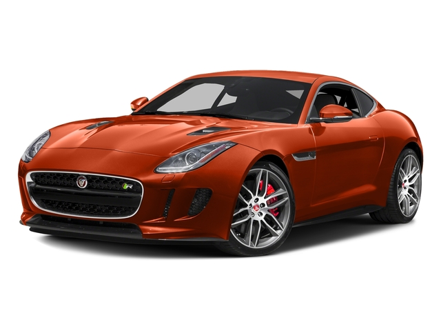 Firesand Metallic 2017 Jaguar F-TYPE Pictures F-TYPE Coupe 2D R AWD V8 photos front view