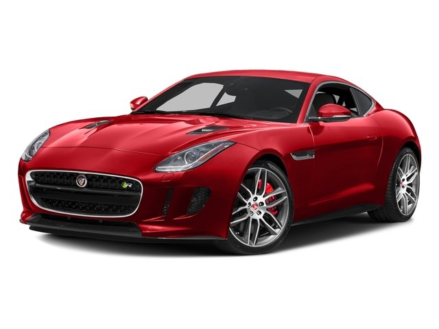 Caldera Red 2017 Jaguar F-TYPE Pictures F-TYPE Coupe 2D R AWD V8 photos front view