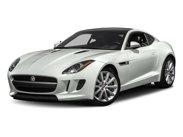 Polaris White 2017 Jaguar F-TYPE Pictures F-TYPE Coupe Auto photos front view
