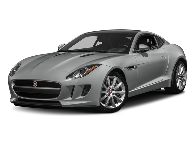 Rhodium Silver Metallic 2017 Jaguar F-TYPE Pictures F-TYPE Coupe Auto photos front view