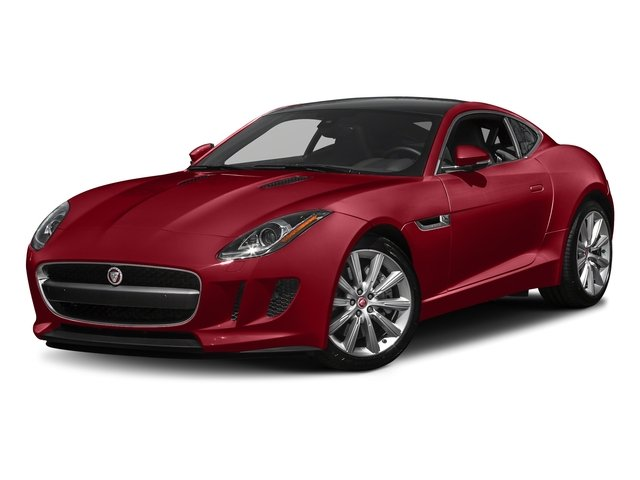 Italian Racing Red Metallic 2017 Jaguar F-TYPE Pictures F-TYPE Coupe 2D Premium V6 photos front view