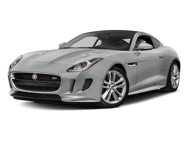 Rhodium Silver Metallic 2017 Jaguar F-TYPE Pictures F-TYPE Coupe Auto S AWD photos front view