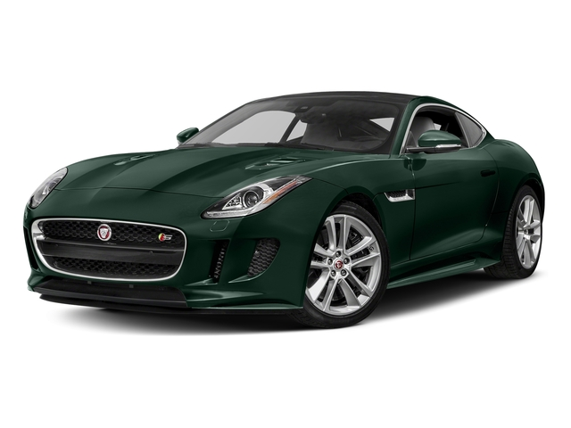 British Racing Green Metallic 2017 Jaguar F-TYPE Pictures F-TYPE Coupe Auto S AWD photos front view