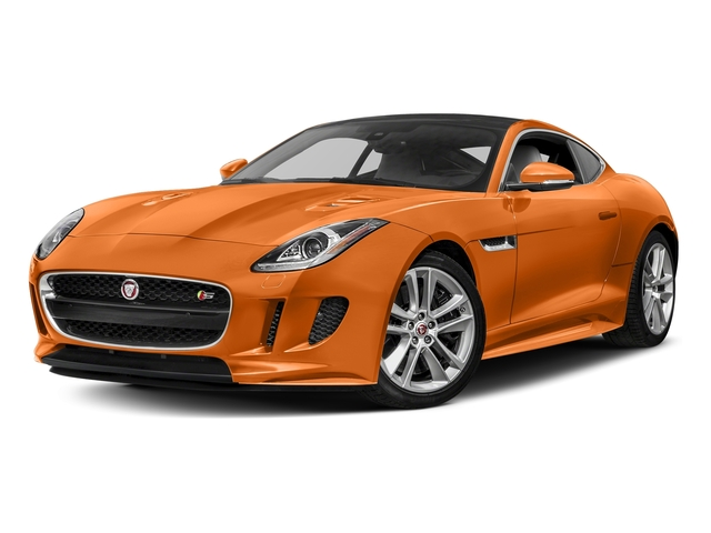 Firesand Metallic 2017 Jaguar F-TYPE Pictures F-TYPE Coupe Auto S AWD photos front view