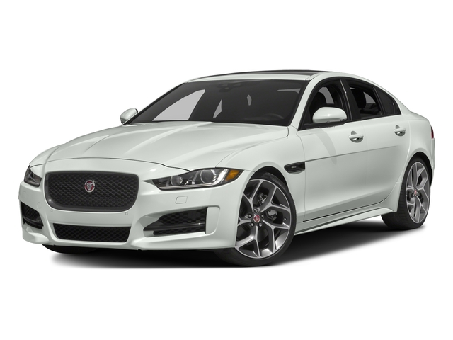 Polaris White 2017 Jaguar XE Pictures XE Sedan 4D 25t I4 Turbo photos front view