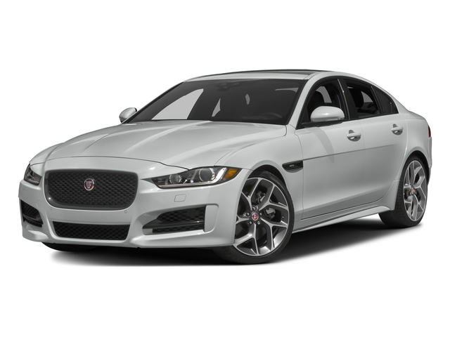 Rhodium Silver Metallic 2017 Jaguar XE Pictures XE Sedan 4D 25t I4 Turbo photos front view