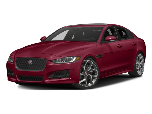 Odyssey Red Metallic 2017 Jaguar XE Pictures XE Sedan 4D 25t I4 Turbo photos front view