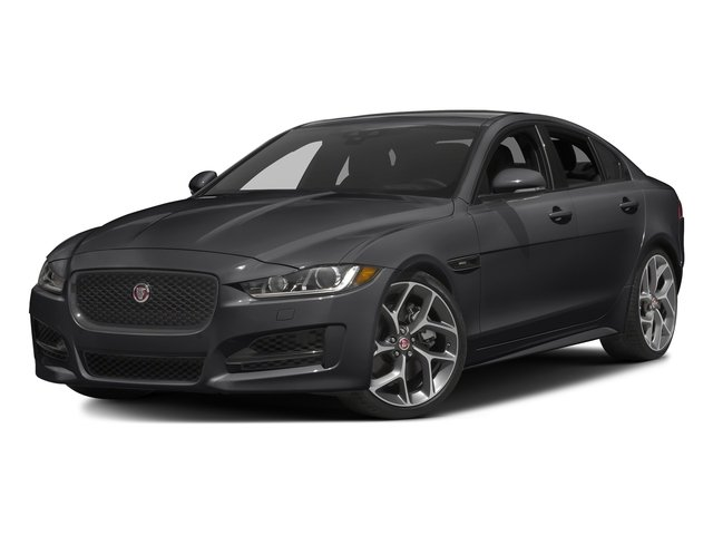 Ebony 2017 Jaguar XE Pictures XE Sedan 4D 25t I4 Turbo photos front view