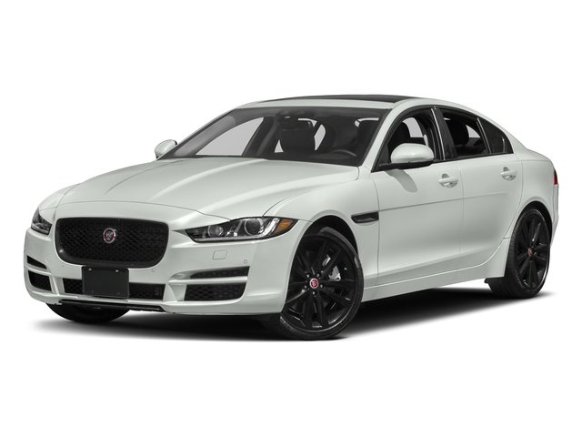 Polaris White 2017 Jaguar XE Pictures XE 35t Prestige AWD photos front view