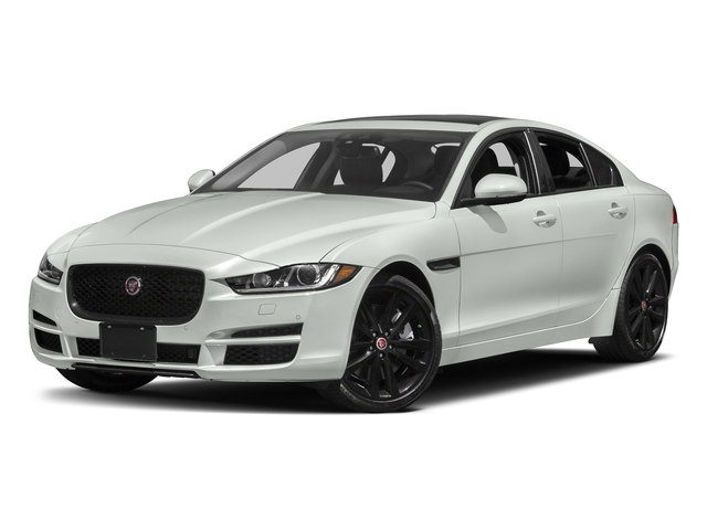 Polaris White 2017 Jaguar XE Pictures XE 35t Premium AWD photos front view