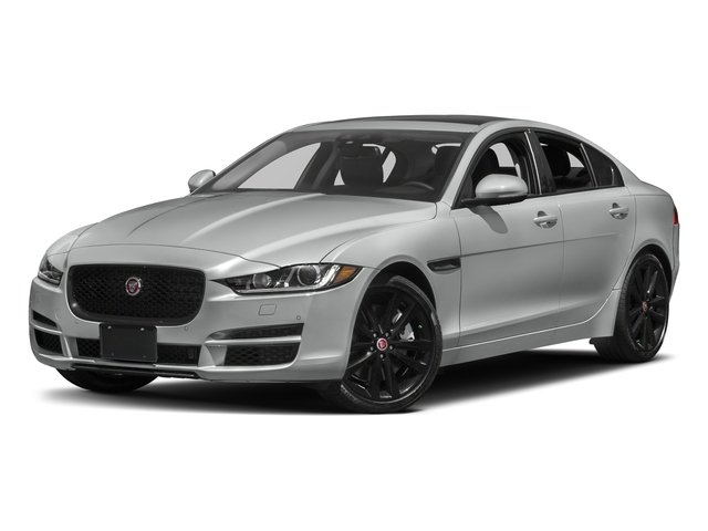 Rhodium Silver Metallic 2017 Jaguar XE Pictures XE 25t Premium RWD photos front view