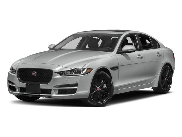 Rhodium Silver Metallic 2017 Jaguar XE Pictures XE 35t Premium AWD photos front view