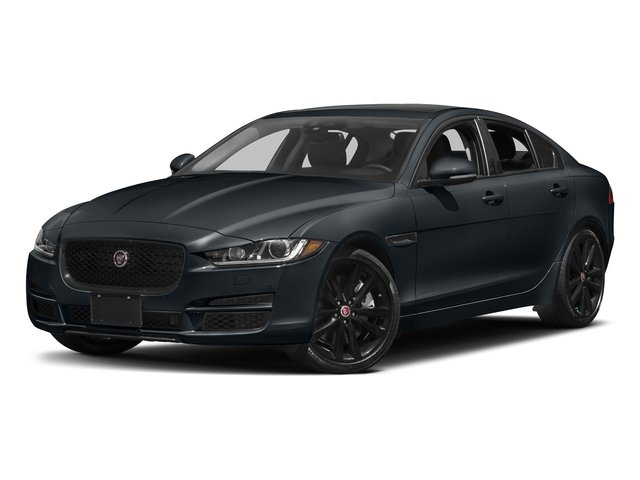 Celestial Black 2017 Jaguar XE Pictures XE 35t Prestige AWD photos front view
