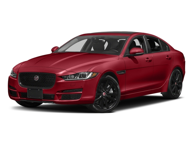 Italian Racing Red Metallic 2017 Jaguar XE Pictures XE 35t Prestige AWD photos front view