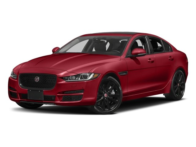 Italian Racing Red Metallic 2017 Jaguar XE Pictures XE 25t Premium RWD photos front view