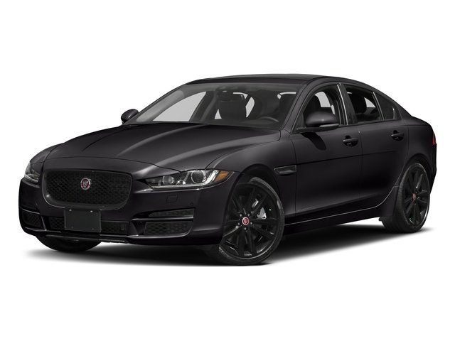 Ultimate Black Metallic 2017 Jaguar XE Pictures XE 25t Premium RWD photos front view