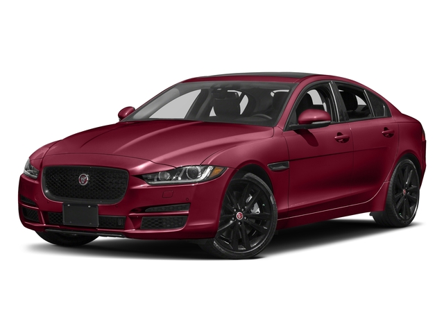 Odyssey Red Metallic 2017 Jaguar XE Pictures XE 35t Premium AWD photos front view