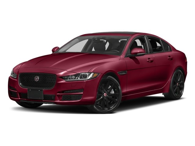 Odyssey Red Metallic 2017 Jaguar XE Pictures XE 25t Premium RWD photos front view