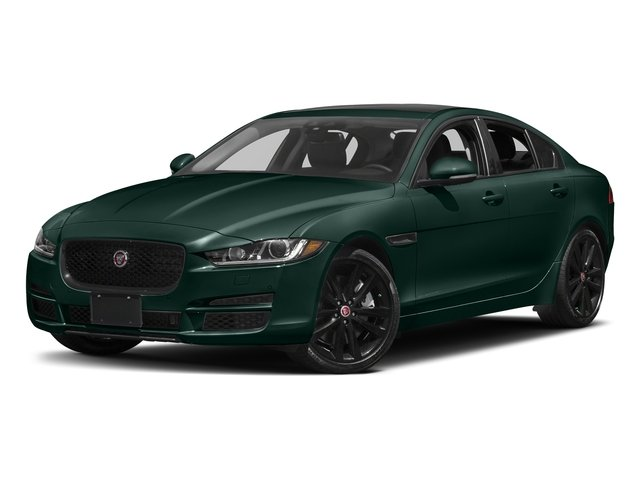 British Racing Green Metallic 2017 Jaguar XE Pictures XE 35t Prestige AWD photos front view