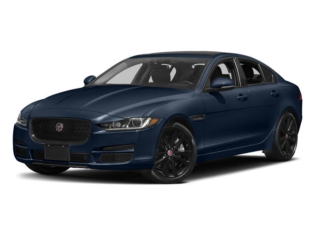 Dark Sapphire Metallic 2017 Jaguar XE Pictures XE Sedan 4D 25t Premium I4 Turbo photos front view