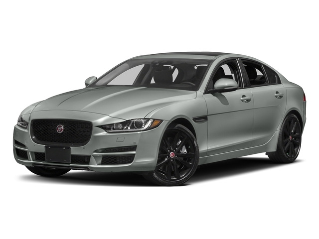 Osmium Metallic 2017 Jaguar XE Pictures XE 35t Premium AWD photos front view
