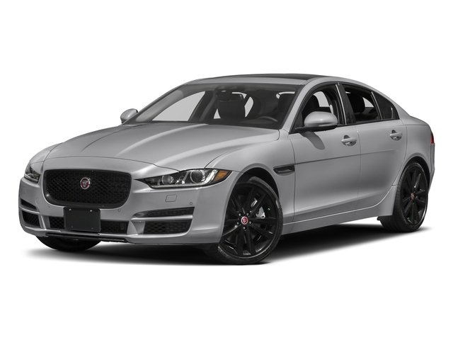 Glacier White Metallic 2017 Jaguar XE Pictures XE Sedan 4D 25t Premium I4 Turbo photos front view