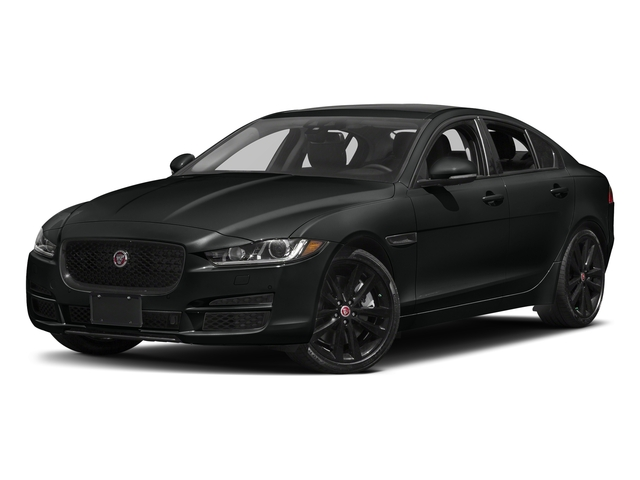 Cosmic Black 2017 Jaguar XE Pictures XE Sedan 4D 25t Premium I4 Turbo photos front view