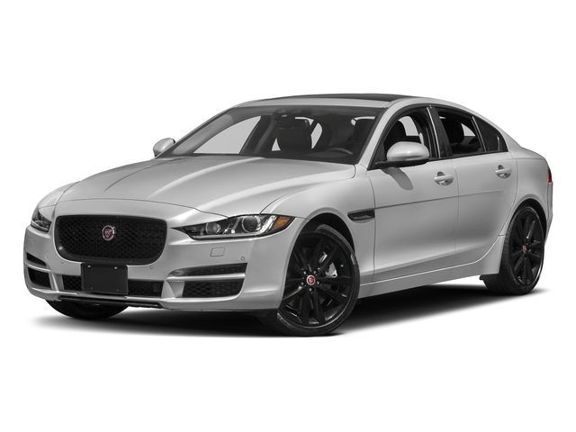 Gallum Silver 2017 Jaguar XE Pictures XE 35t Premium AWD photos front view