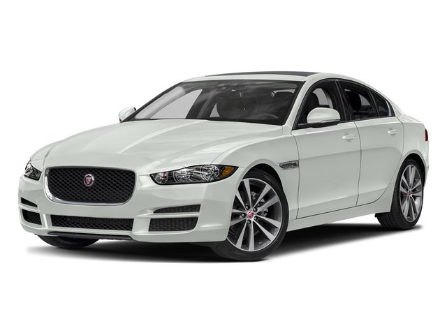 Polaris White 2017 Jaguar XE Pictures XE Sedan 4D 20d AWD I4 T-Diesel photos front view