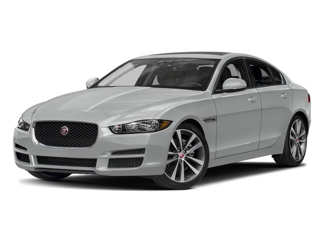Rhodium Silver Metallic 2017 Jaguar XE Pictures XE Sedan 4D 20d AWD I4 T-Diesel photos front view