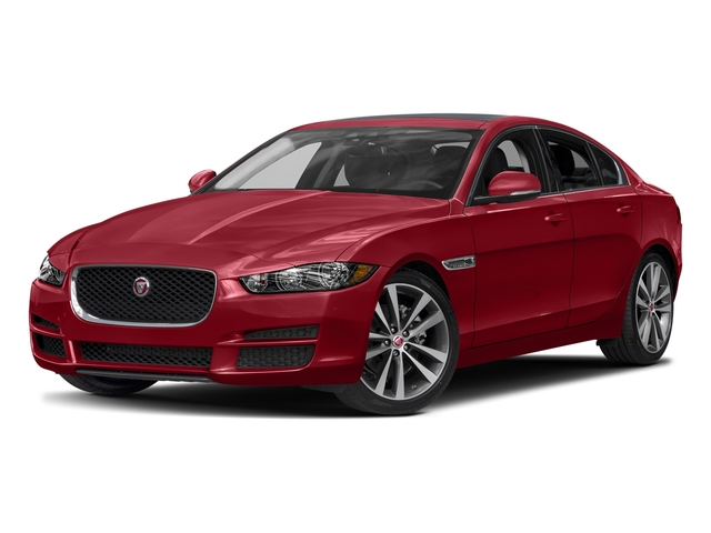 Italian Racing Red Metallic 2017 Jaguar XE Pictures XE Sedan 4D 20d Prestige I4 AWD T-Dsl photos front view