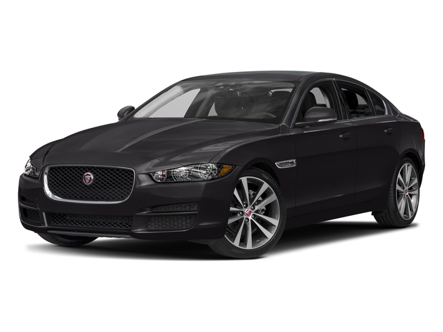 Ultimate Black Metallic 2017 Jaguar XE Pictures XE Sedan 4D 20d Prestige I4 AWD T-Dsl photos front view