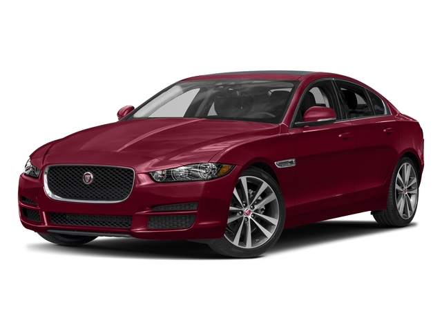 Odyssey Red Metallic 2017 Jaguar XE Pictures XE Sedan 4D 20d AWD I4 T-Diesel photos front view