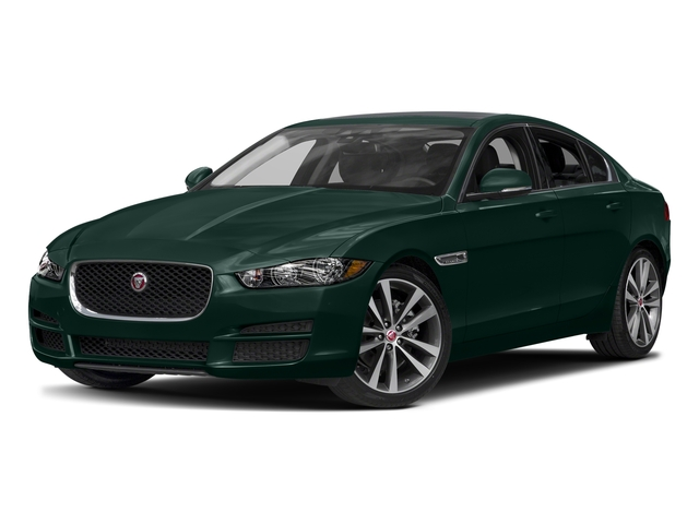British Racing Green Metallic 2017 Jaguar XE Pictures XE Sedan 4D 20d Prestige I4 AWD T-Dsl photos front view