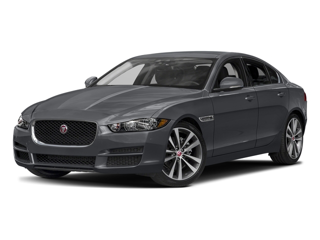 Tempest Grey 2017 Jaguar XE Pictures XE Sedan 4D 20d Prestige I4 AWD T-Dsl photos front view