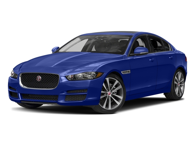 Caesium Blue Metallic 2017 Jaguar XE Pictures XE Sedan 4D 20d Prestige I4 AWD T-Dsl photos front view