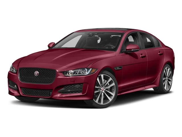 Odyssey Red Metallic 2017 Jaguar XE Pictures XE 20d R-Sport RWD photos front view