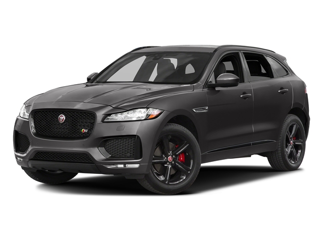 Ammonite Grey Metallic 2017 Jaguar F-PACE Pictures F-PACE Utility 4D S AWD V6 photos front view