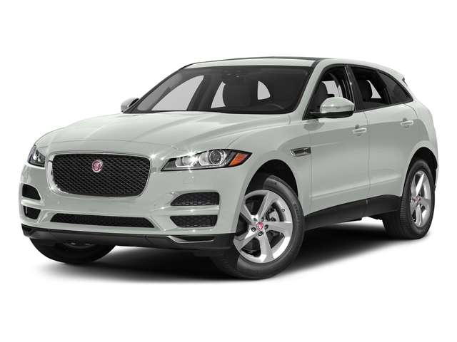 Polaris White 2017 Jaguar F-PACE Pictures F-PACE 35t Prestige AWD photos front view