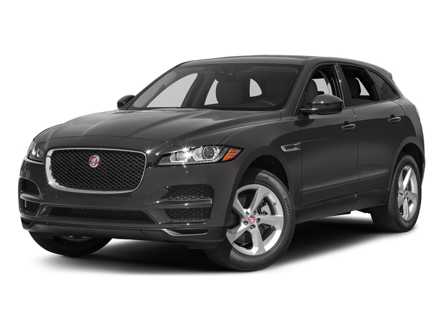 Ammonite Grey Metallic 2017 Jaguar F-PACE Pictures F-PACE 35t Prestige AWD photos front view