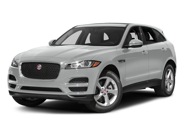 Rhodium Silver Metallic 2017 Jaguar F-PACE Pictures F-PACE 35t Prestige AWD photos front view