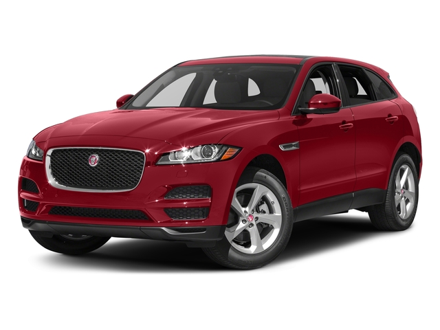 Italian Racing Red Metallic 2017 Jaguar F-PACE Pictures F-PACE 35t Prestige AWD photos front view