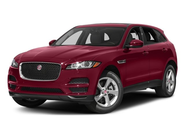 Odyssey Red Metallic 2017 Jaguar F-PACE Pictures F-PACE 35t Prestige AWD photos front view